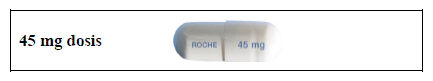 Tamiflu® Roche Registration Limited, hårde kapsler 45 mg